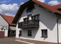 Innenhof Landhotel zum Baier Dermbach/Unteralba