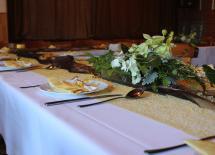 Dekoration für Feier in Dermbach