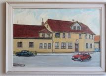 Malerei Landhotel zum Baier
