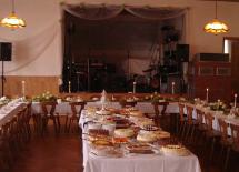 Saal und Tafel in Dermbach/Unteralba